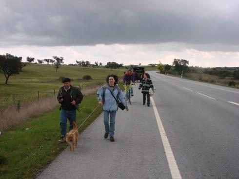 Caminando hacia Portalegre
