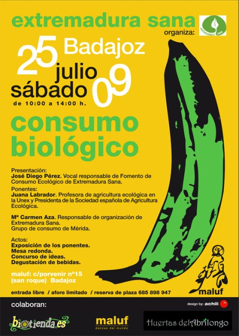 cartel grupo consumo 25 julio